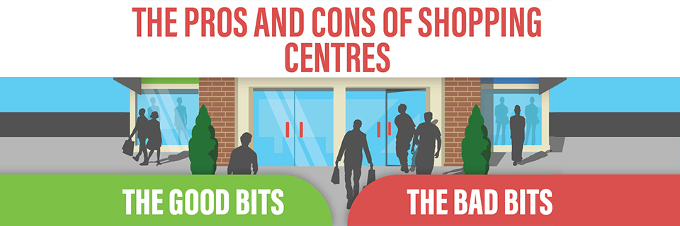 The Pros and Cons of Shopping Centres