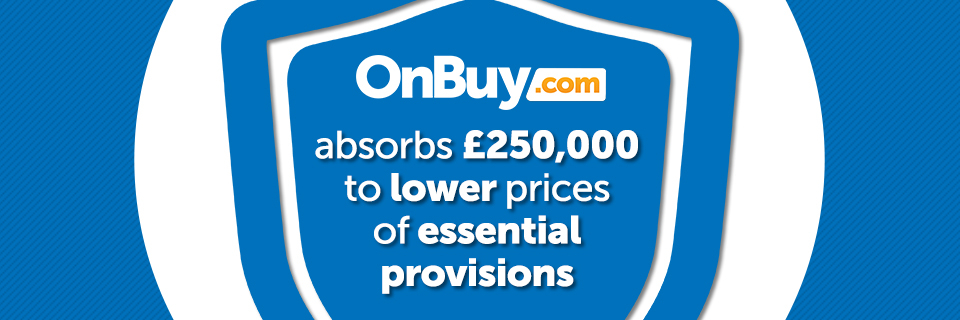 OnBuy Absorbs £250,000 To Lower Prices Of Essential Provisions