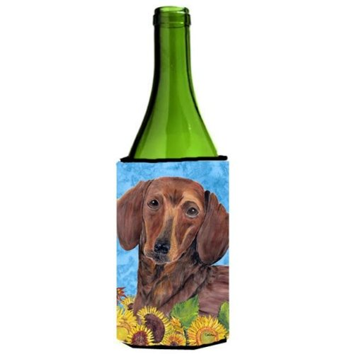 Dachshund Wine bottle sleeve Hugger - 24 oz.