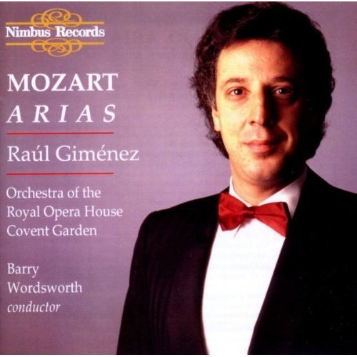 Gimenez - Mozart: Arias [CD]