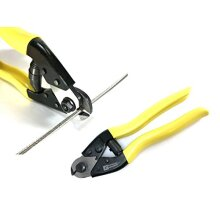 "Panorama Cable Cutter for Stainless Steel Wire Rope Aircraft Bicycle Cable and Housing Cuts Up to 5/32"" Cable"