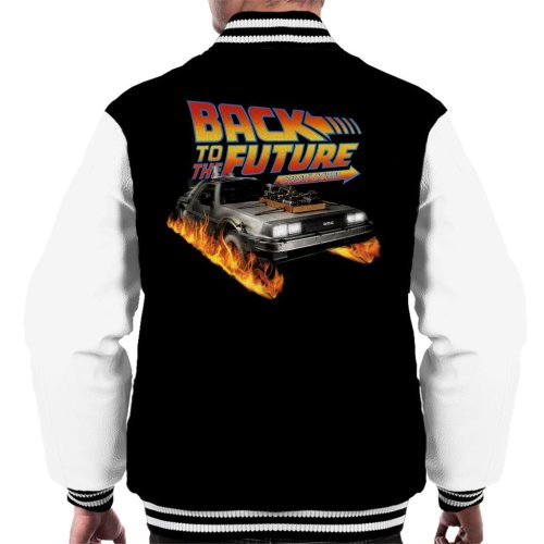 DeLorean Count Down Back To The Future Men's Varsity Jacket