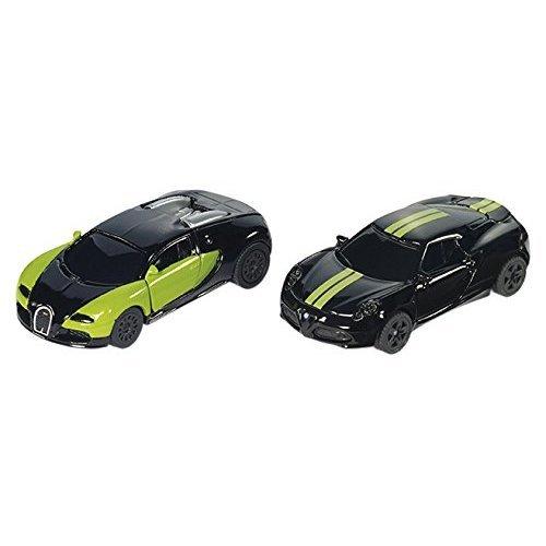 Art.6309 Siku Super Black /& Green Special Edition Pkw Set