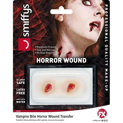 Smiffy/'s Bloody Wound//Halloween//fancy Dress//party//horror//fake Blood