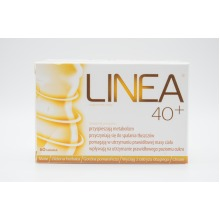 Linea 40+ 60 Capsules, Weight Loss, Middle Aged, Assists Metabolism