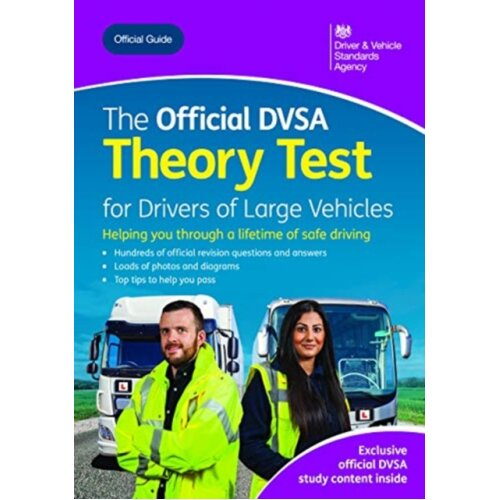 The official DVSA theory test for large vehicles by Driver and Vehicle Standards Agency