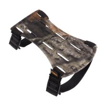 "Allen 2-Strap Archery Armguard, 6.5"", Mossy Oak Break-Up camo"