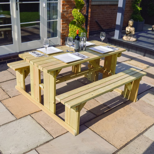 Tinwell picnic bench - 4ft