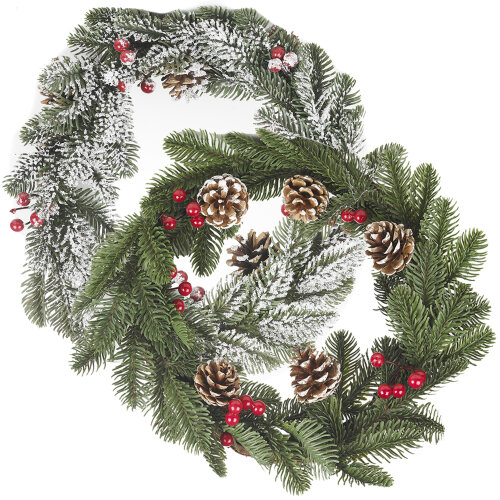 Christmas Wreath Design | Classic Traditional Wreath