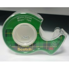 Scotch Magic Tape Matte Finish with dispenser 6x