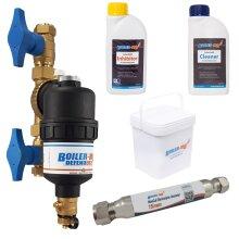 Boiler-m8 Defender 22mm Magnetic Boiler Filter Part L Compliance Pack
