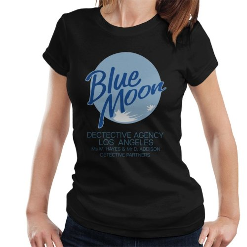 Blue Moon Detective Agency Moonlighting Women's T-Shirt