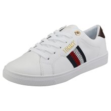 Tommy Hilfiger Lace Up Sneaker Womens Fashion Trainers