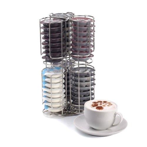 Kabalo Stainless Steel 48 Coffee Pod Capsule Holder Dispenser Stand for Tassimo