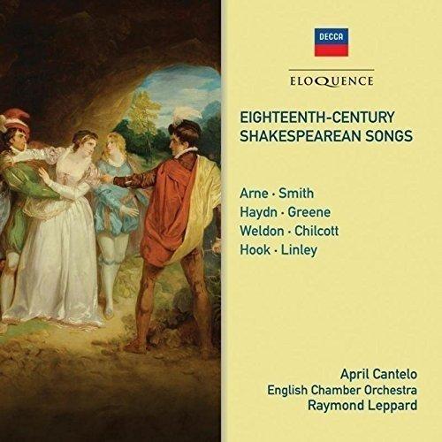 Cantelo April - 18th C Shakespearean Songs [CD]
