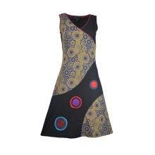 Tattopani Women Sleeveless Sun Dress With Mandala Print