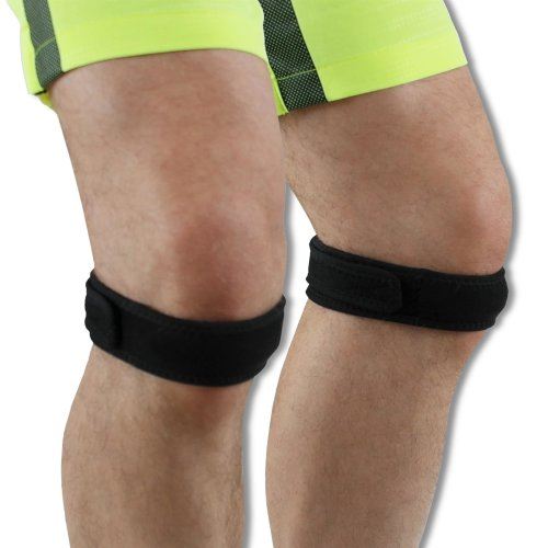 2 x NeoPhysio Magnetic Therapy Patella Tendon Knee Strap