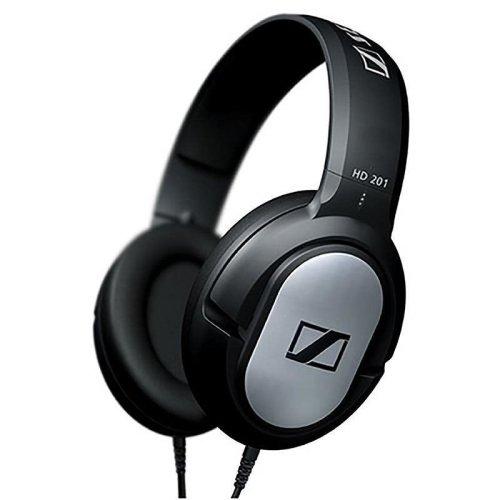 Sennheiser HD-201 Headphones 108 dB Powerful sound reproduction