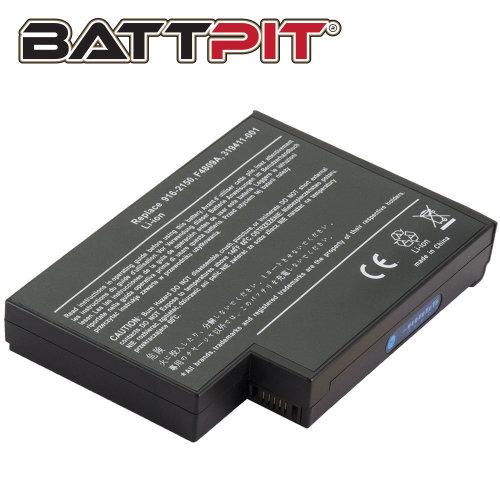 BattPit Battery for HP Compaq 319411-001 371785-001 Pavilion ZE4300 ZE4900 Presario 2100 2500 HP NX9005 NX9010 [8-Cell/65Wh]