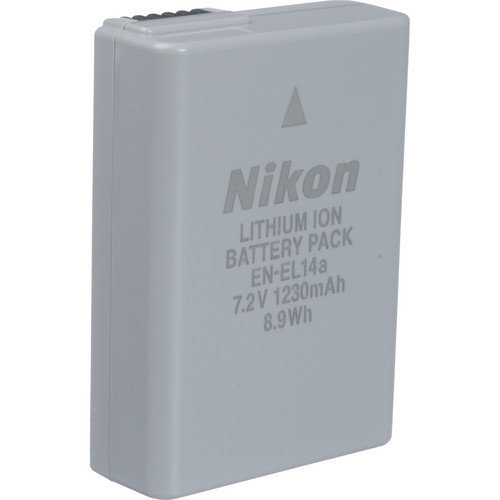 NIKON EN-EL14A Battery - Used