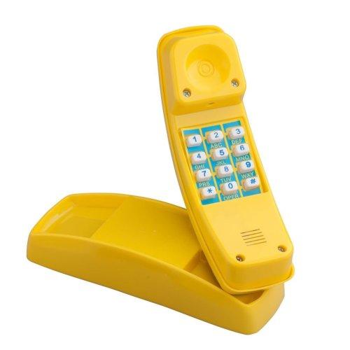 Swing King Telephone Plastic Yellow 2552030