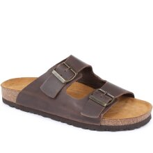 Jones Bootmaker - Hilston Dual Strap Leather Sandal