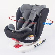 ISOFIX CHILD CAR SEAT 0-36kg GROUP 0+/1/2/3 360° ROTATING