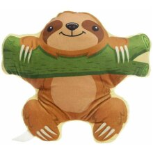 Sloth with Branch Plush Cushion Animals Pillow Gift Hanging Aprx 30 cm