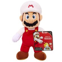 (Fire Mario) - Mario Bros U Fire Mario Plush