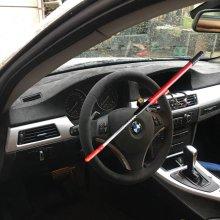 ANTI THEFT EXTENDABLE STEERING WHEEL LOCK DOUBLE HOOK CAR VAN SECURITY NEW