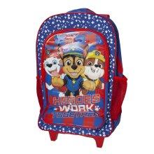 Paw Patrol Childrens/Kids Heroes Work Together Wheelie Backpack