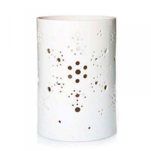 Yankee Candle Christmas Snowflake Winter Flurries Jar Holder