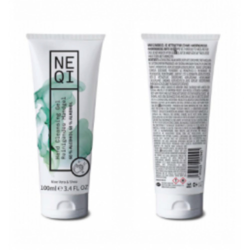Neqi Hand cleansing gel with Aloe Vera and Shea Butter 100ml