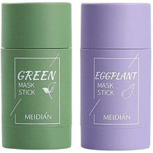 Green Tea Natural Purifying Clay Facial Mask Stick