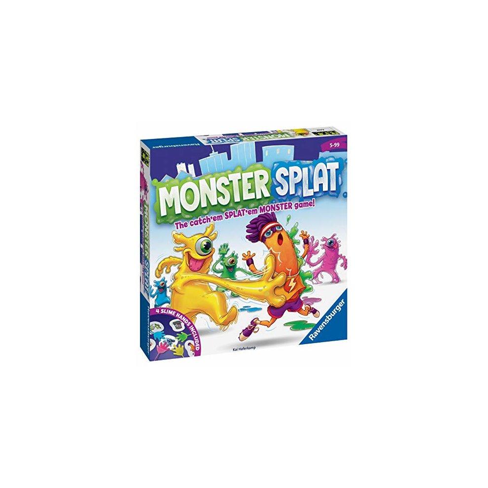 Ravensburger Monster Splat - The Frenzied Fast-Reaction Game