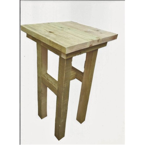 Wooden Rustic Poser Table