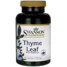 Swanson  Thyme Leaf, 500mg - 120 caps