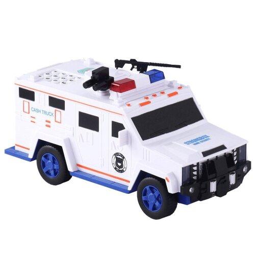 Children Piggy Bank Box, Cash Car, Safe Truck Toy Gift For Kids