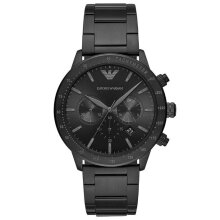 Emporio Armani AR11242 Analog Black Dial Men's Watch
