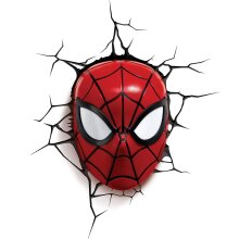 Spiderman 3D Wall Light