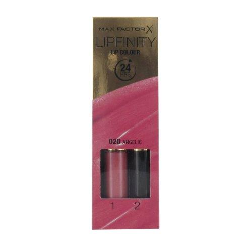 Max Factor Lipfinity Lip Colour Lipstick - Angelic #020