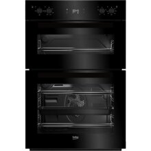 Beko BDF22300B Electric Double Oven, Black - Used
