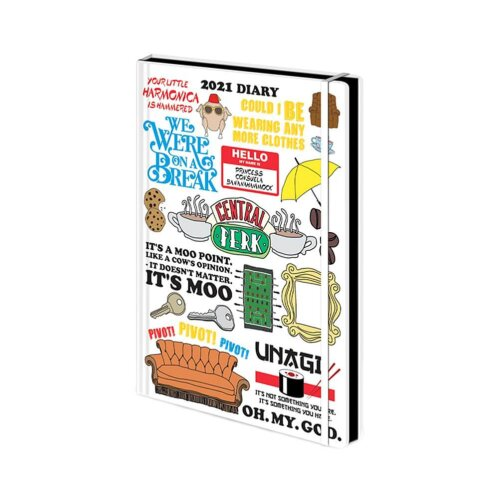 Friends The TV Series Quotes 2021 Diary