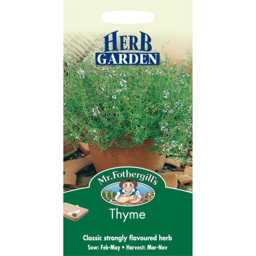 Mr Fothergills - Pictorial Packet - Herb - Thyme - 1000 Seeds