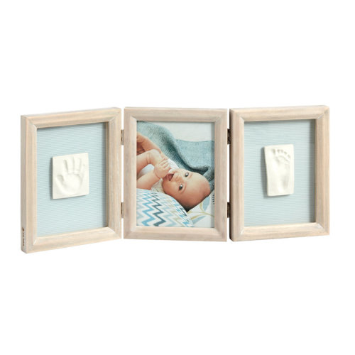 Baby Art My Baby Touch Double Print Frame Stormy¦Gift For Baby Shower