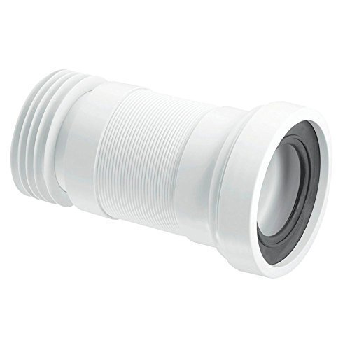 Connecting Pipe for Cistern 210 x 200 mm Plastic Low Cisterns 21266 3