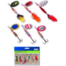 Zebco Spinner Assortment Trout / Zander Lure Sets - 5 Pieces