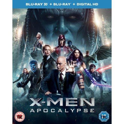 X-Men - Apocalypse 3D+2D Blu-Ray [2016]