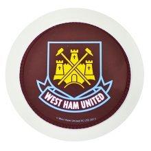West Ham Round Tax Disc Holder - Fc Official Football Crest Car -  west ham fc official round football crest car tax disc holder