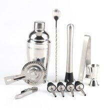 22pk Cocktail Set | Stainless Steel Bartending Kit